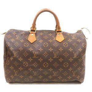 Auth Louis Vuitton Speedy 35 Hand Bag #15238L29